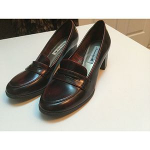 womens AMERICAN EAGLE brownish/red   pumps size 6